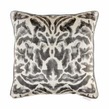 Voyage Nikko Charcoal Velvet Cushion