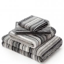 Cawo Luxury Multi Stripe 79 Slate