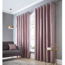Studio G Catalonia Heather Eyelet Curtains