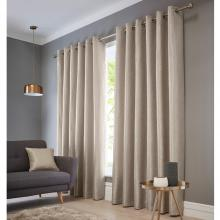 Studio G Catalonia Natural Eyelet Curtains