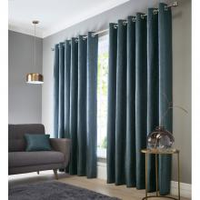 Studio G Catalonia Ocean Eyelet Curtains