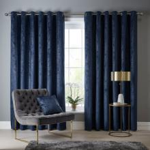 Studio G Navarra Indigo Curtains
