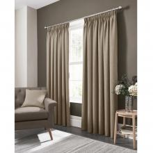 Studio G Elba Linen Pencil Pleated Curtains