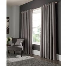 Studio G Elba Grey Eyelet Curtains