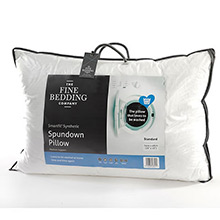 The Fine Bedding Company The Spundown Pillow Soft Support