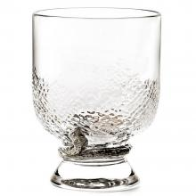 Roberto Cavalli Python Silver Old Fashioned Glass Set of 2