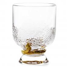 Roberto Cavalli Python Gold Old Fashioned Glass Set of 2