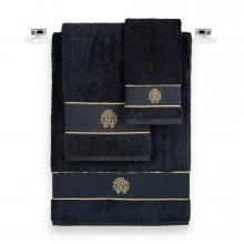 Roberto Cavalli New Gold Towels Black 914