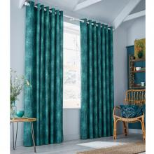 Clarissa Hulse Dill Eyelet Headed Curtains