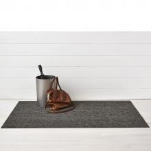 Chilewich Heathered Black / Tan Shag Mat