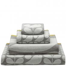 Orla Kiely Early Bird Towels