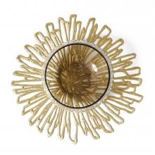 Chilewich Bloom Gilded Coaster set