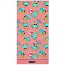 Fat Face Crab Beach Towel