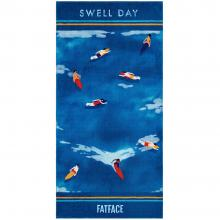 Fat Face Swell Day Beach Towel