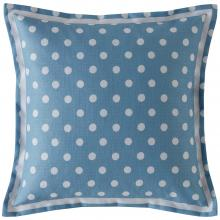 Cath Kidston Button Spot Cushion Blue