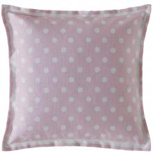 Cath Kidston Button Spot Cushion Blush