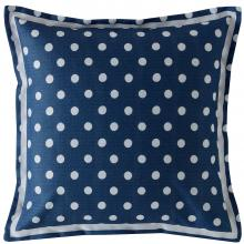 Cath Kidston Button Spot Cushion Navy