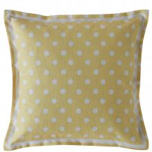 Cath Kidston Button Spot Cushion Yellow