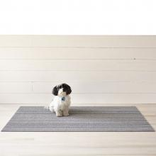 Chilewich Skinny Stripe Shadow Shag Mat