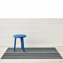 Chilewich Even Stripe Marine Shag Mat