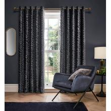Ashley Wilde Design Jovan Slate Lined Curtains