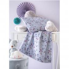 Blumarine Baby Mongolfiera (Hot Air Balloon) 3 Piece Sheet set for Baby Cradle