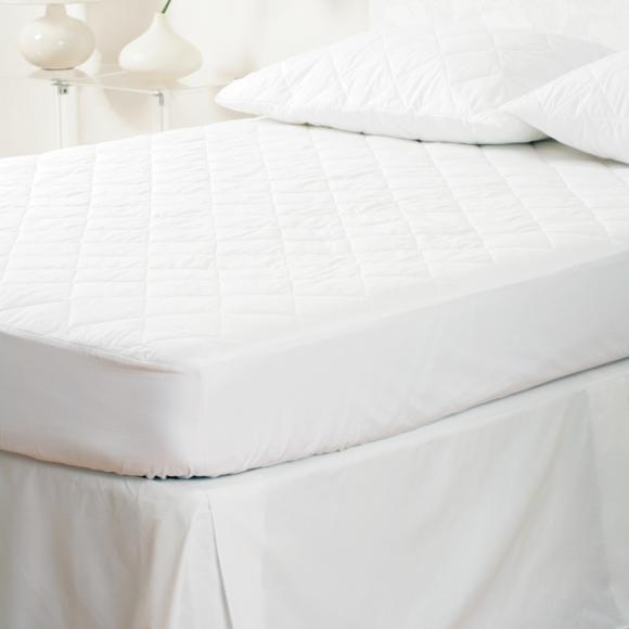 Belledorm Cotton Percale Quilted Pillow Protector In