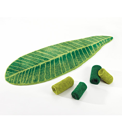 Abyss Amp Habidecor Feuille Green In Mats And Rugs At