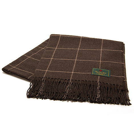 The Isle Mill Cadogan Square Peat Throw