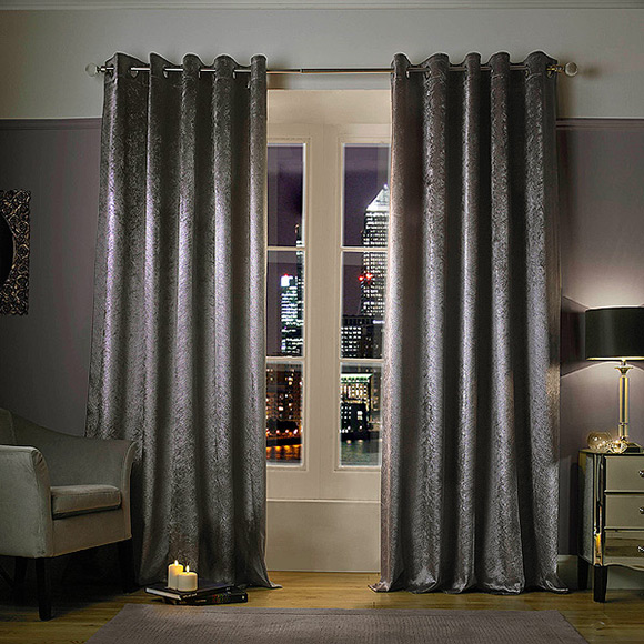 Kylie Minogue At Home Adelphi Truffle in Ready Made Curtains ...