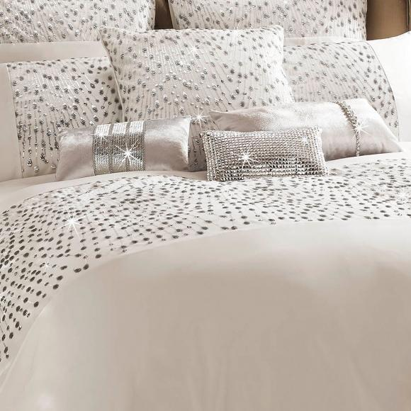 Kylie Minogue At Home Eva Oyster In Fashion Duvet Covers