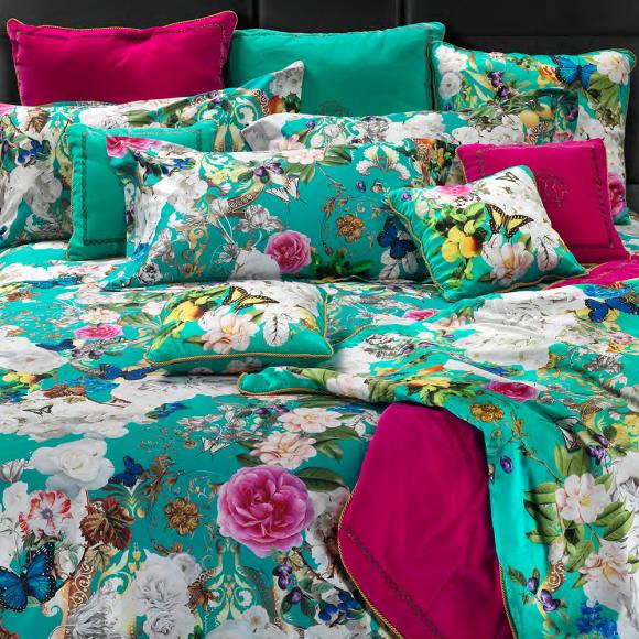 Roberto Cavalli Blaze Ottanio In Italian Duvet Covers At