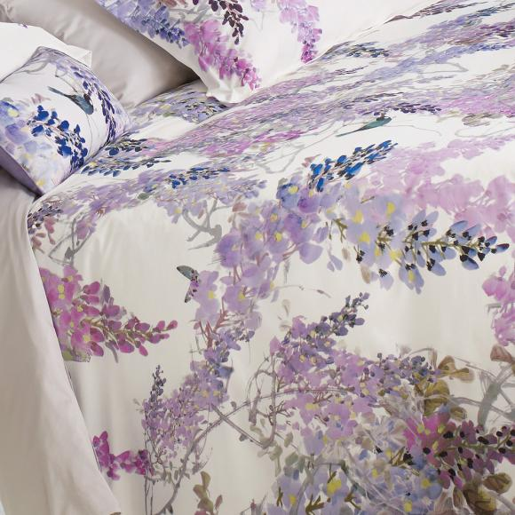 Sanderson Wisteria Falls In Fashion Duvet Covers At