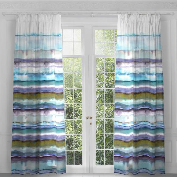Voyage Jadu Ocean Curtain Panels Pair