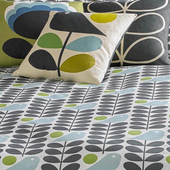 orla kiely early bird granite in fashion duvet covers at seymour u0026 39 s home