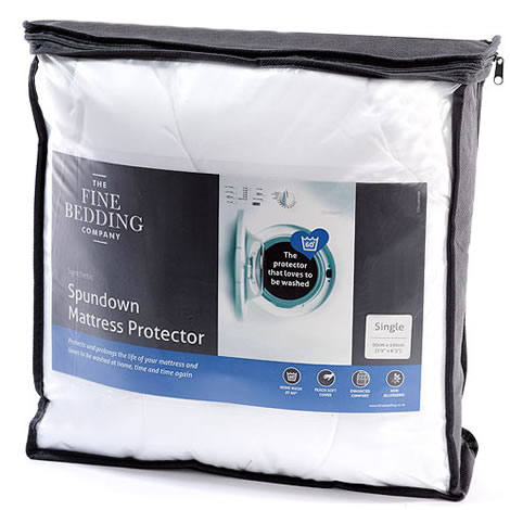 The Fine Bedding Company The Spundown Mattress Protector