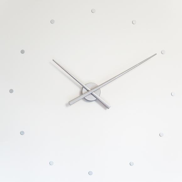Nomon OJ Silver in Wall Clocks at Seymours Home