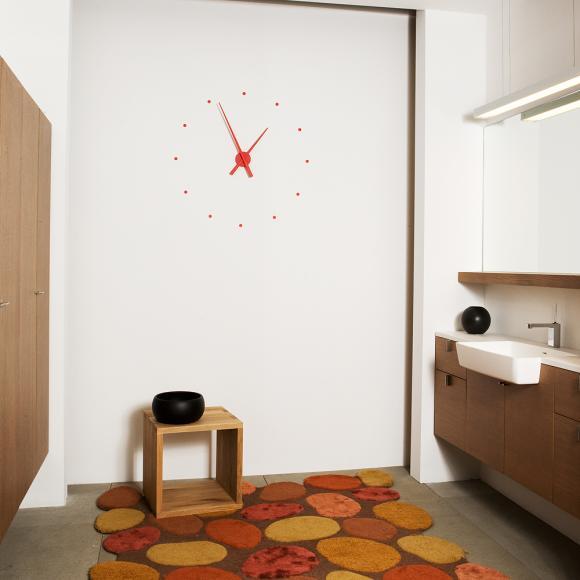 Nomon OJ mini Red in Wall Clocks at Seymours Home